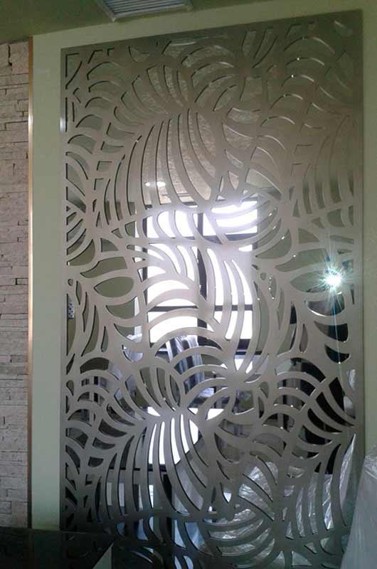 3D МДФ панели в интерьере ресторана, Архистиль, Бишкек