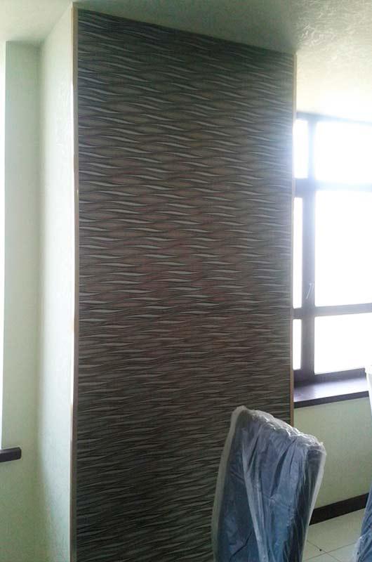 3D МДФ панели в интерьере столовой, Архистиль, Бишкек