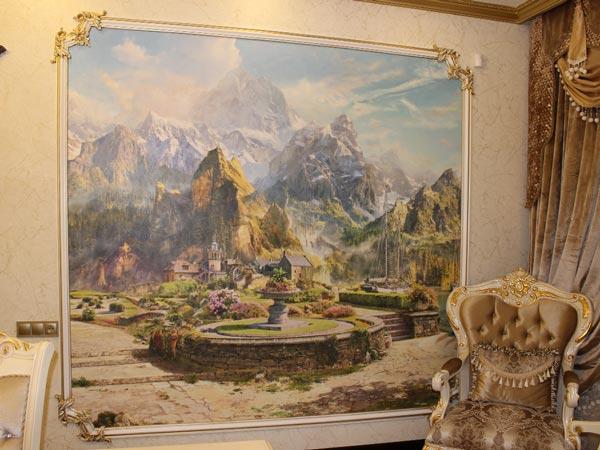 Художественная фреска - окно в другой мир, Архистиль, Бишкек