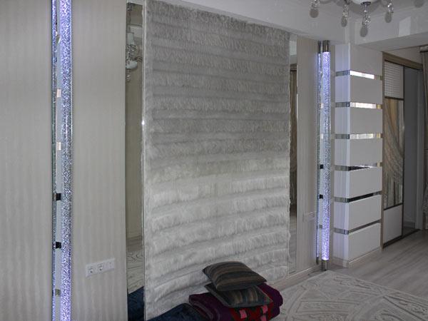 Световые колонны в интерьере частного дома, Архистиль, Бишкек