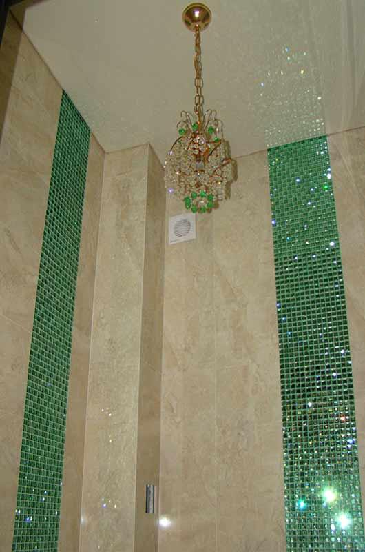 Декоративная вставка из граненой мозаики, Архистиль, Бишкек