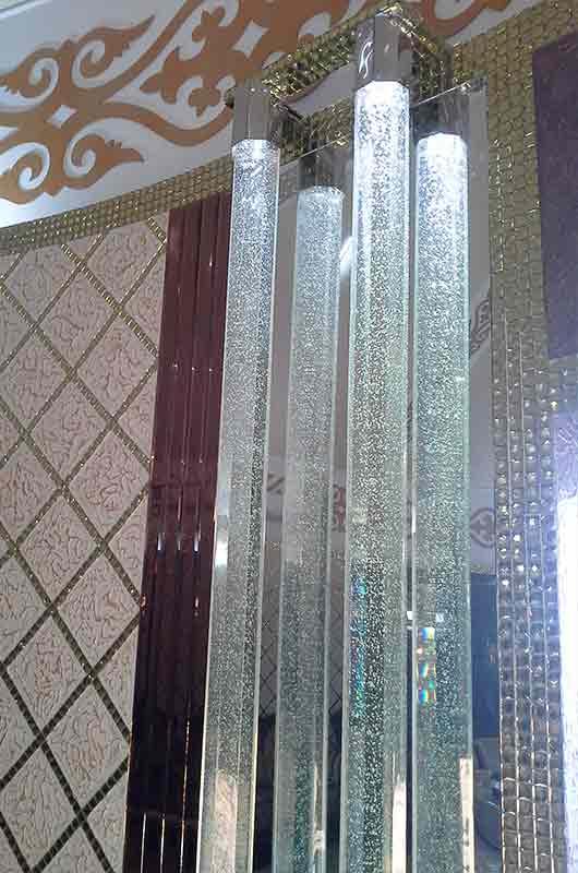 Комплекс световых колонн в ресторане, Архистиль, Бишкек
