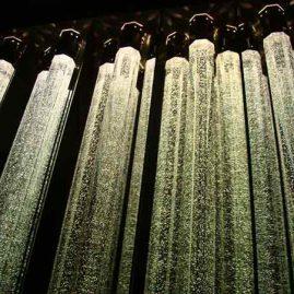 Безмолвная симфония: «орган» из световых колонн