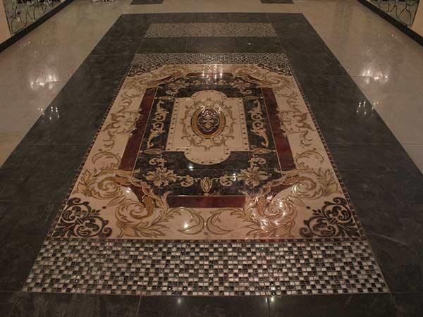 Шикарный керамогранитный ковер в главном зале, Архистиль, Бишкек