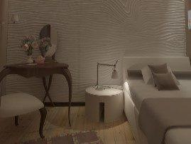 3D МДФ панели в спальне