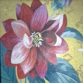 Мозаичное панно «Цветы 02»