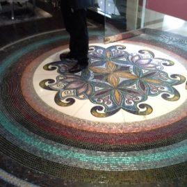 Мозаичное панно «Орнамент»