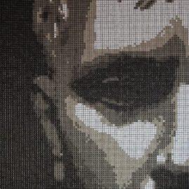 Мозаичное панно «Лицо»