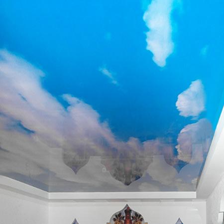 Натяжные потолки в магазине Архистиль, Бишкек