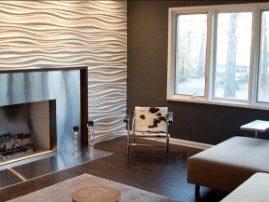 3D МДФ панели в частном доме