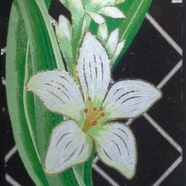 Мозаичное панно «Цветы 01»