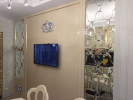 Фацетные зеркала в интерьере