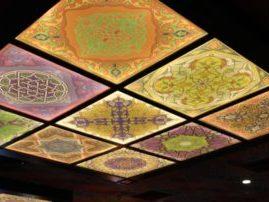 Натяжной потолок «Орнаменты»