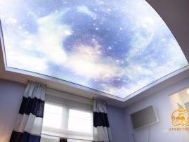 Натяжной потолок «Звёздное небо»